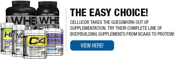 Complete Line of Cellucor Supplements!