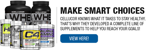 Complete Line of Cellucor Supplements