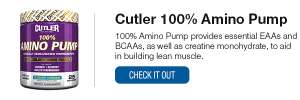 Cutler Amino Pump Shop Now