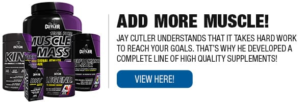 Full Line of Cutler Nutrition Supplements