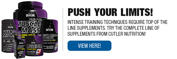 Cutler Nutrition Supplements