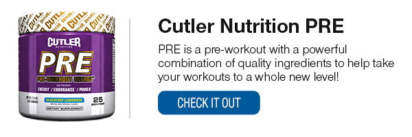 Cutler PRE Shop Now
