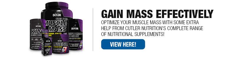 Cutler Nutriton Supplements
