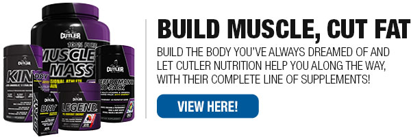 Cutler Nutrition Supplements