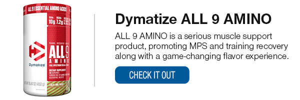 Dymatize ALL 9 AMINO Shop Now!