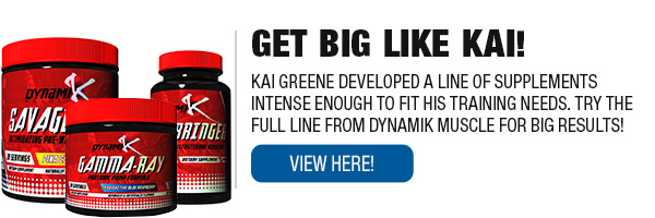 Complete Line of Dynamik Muscle Supplements