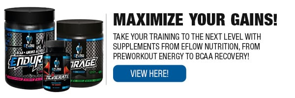Full Line of eFlow Supplements