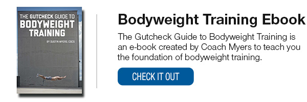 Gutcheck Guide to Bodyweight training