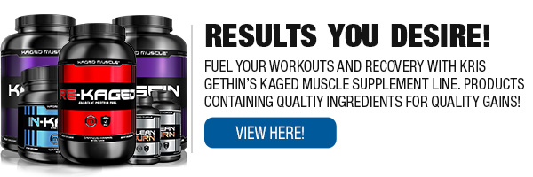 Complete Line of Kaged Muscle Supplements