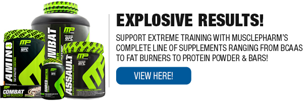 Complete Line of Musclepharm Supplements
