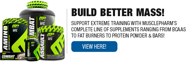 Full Line of MusclePharm Supplements