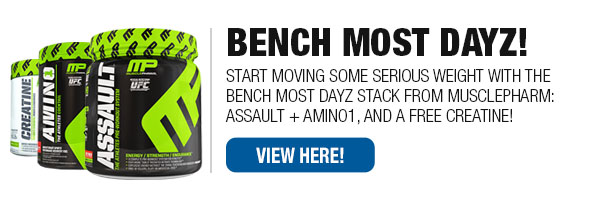 MusclePharm Bench More Dayz Stack