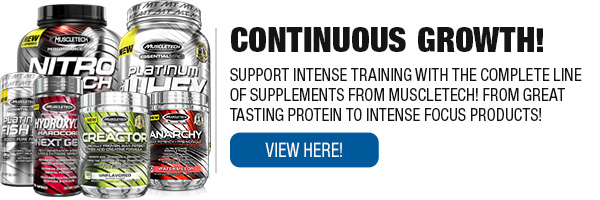 Full Line of MuscleTech Supplements