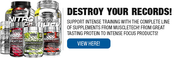 Complete Line of Musctletech Supplements