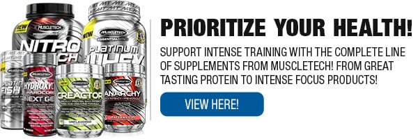 Complete Line of Muscletech supplements