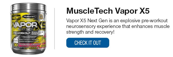 MuscleTech Vapor X5 Shop Now!
