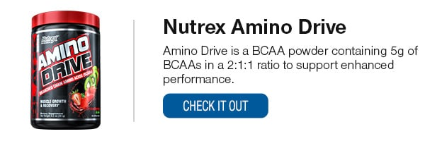Nutrex Amino Drive Shop Now!