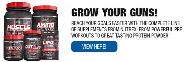 Complete Line of Nutrex Supplements