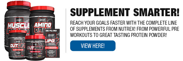 Full Line of Nutrex Supplements