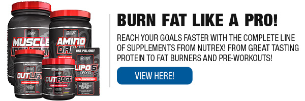 Complete Line of Nutrex Supplements