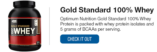 Optimum Nutrition 100% Gold Standard Whey Shop Now!