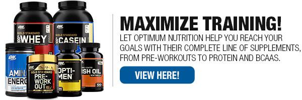 Optimum Nutrition Supplements