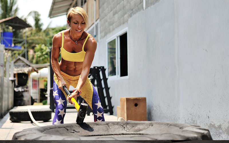 Power Hour Cardio: Sledhammer Swings