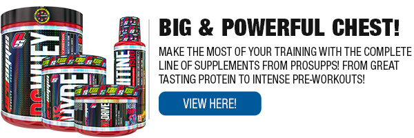 Full Line of ProSupps Supplements