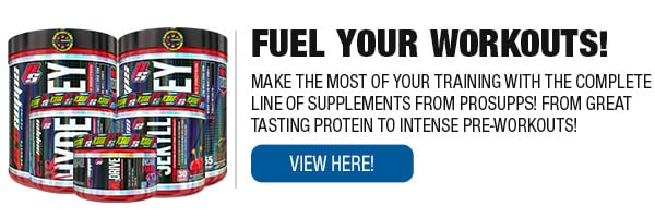 Complete Line of Prosupps Supplements