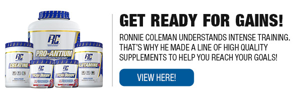 Complete Line of Ronnie Coleman Series Supplements