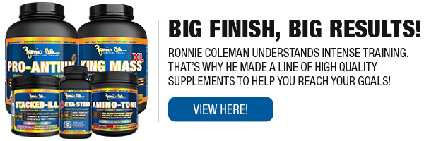 Complete Line of Ronnie Coleman Signature Series Supplements