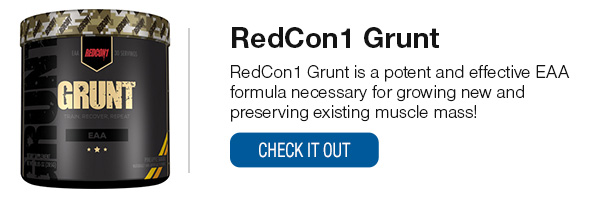 RedCon1 Grunt Shop Now!