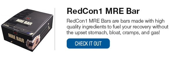 RedCon1 MRE Bars Shop Now!