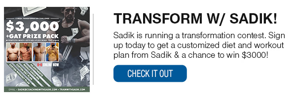 Transform with Sadik!