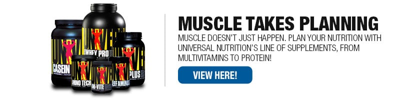 Universal Nutrition Supplements