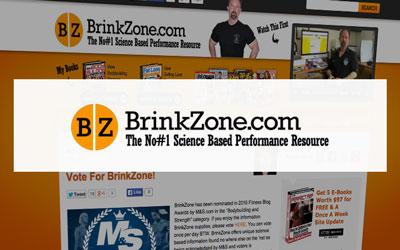 bodybuilding blog Brink Zone
