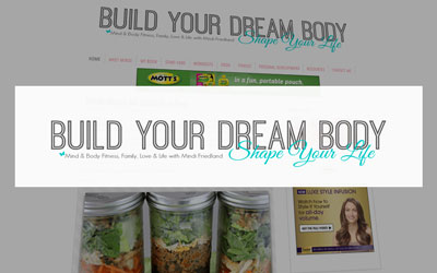 blog for women Build Your Dream Body