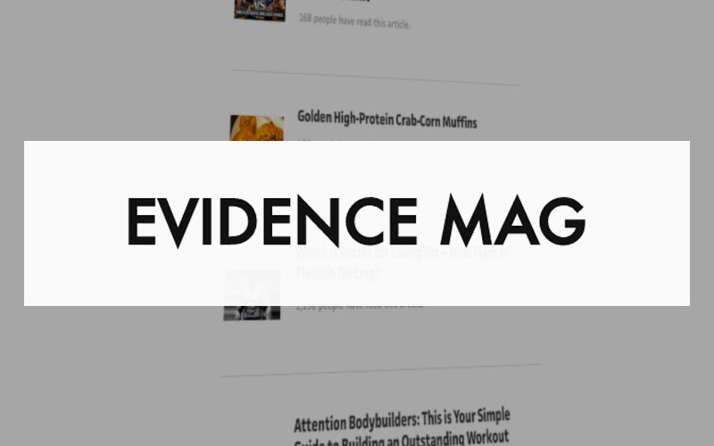 health blog Evidence Mag