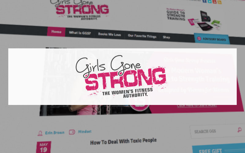 blog for women Girls Gone Strong