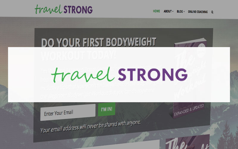 motivational blog Travel Strong