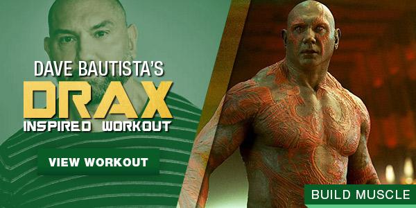 Dave Bautista Drax Workout