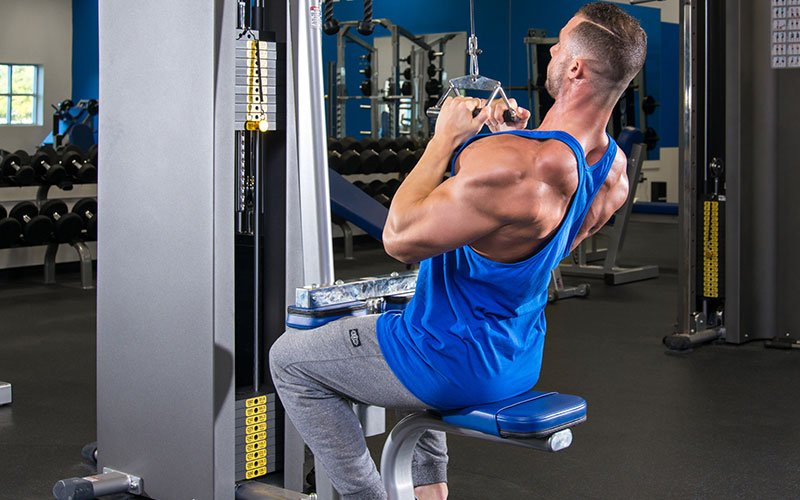 Neutral Grip Lat Pull Down