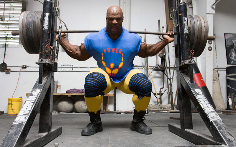 Ronnie Coleman Squat