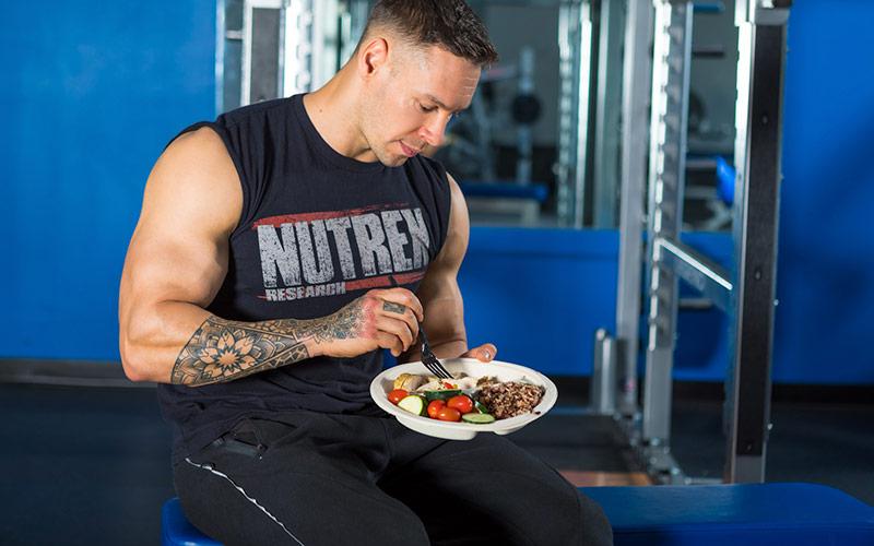 Nutrex Athlete Enjoying Whole Foods