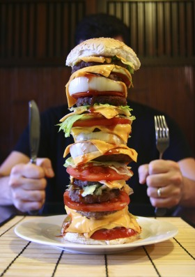 Huge Hamburger