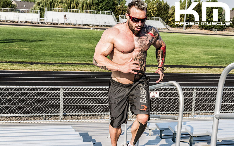 Kris Gethin Running Stadium Steps