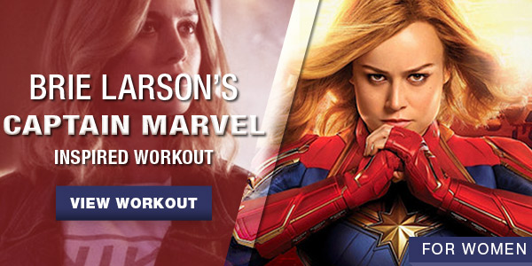 Brie Larson Workout