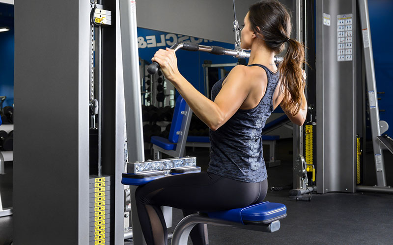 Lat Pull Down Using the RPD Method