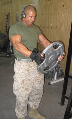 Philip Ricardo Working Out