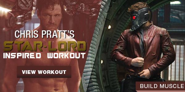 Chris Pratt Star Lord Workout